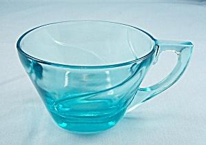 Hazel Ware – Capri – Azure Blue Cup, Colony Swirl (Image1)
