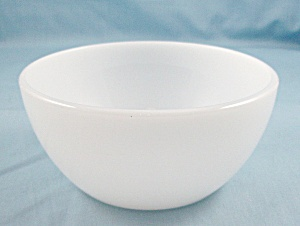 Federal Heat Proof - Chili / Soup Bowl - Milk Glass