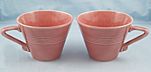 Two Harlequin Cups – Rose (Image1)