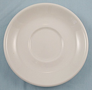 Homer Laughlin – White Saucer - Restaurant Ware (Image1)