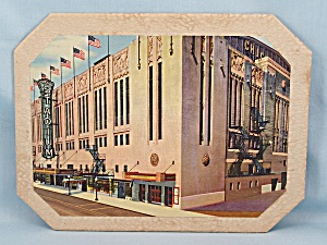 Souvenir - Vintage Hot Plate - Chicago Stadium