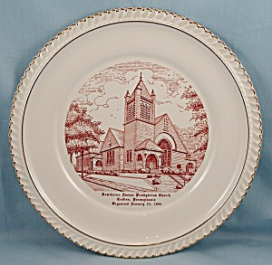 Hawthorne  Ave Church � Crafton, PA. - Collector/ Souvenir Plate (Image1)