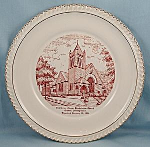Hawthorne  Ave Church – Crafton, PA. - Collector/ Souvenir Plate (Image1)