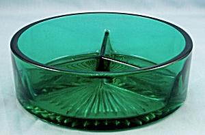 Emerald Green Divided Bowl (Image1)
