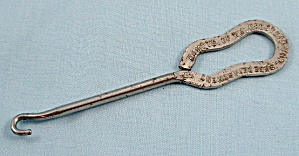 Advertising – Button Hook – Wm. Goodyear - Patn'd.- Guitar handle (Image1)