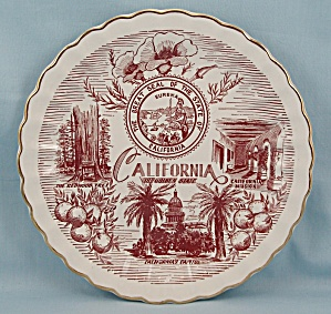 California, The Golden State - Collector/ Souvenir Plate (Image1)