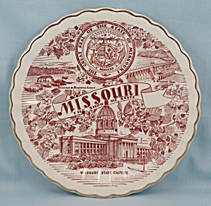 Missouri – The Show Me State - Collector/ Souvenir Plate (Image1)