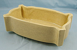 UPCO – Ungemach Pottery – Window Box Planter – Yellow Speckled (Image1)