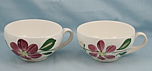 Blue Ridge, Southern Potteries – Two Cups – Darcy (Image1)