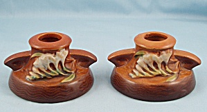 Roseville Freesia Candle Holders 1160-2 (Image1)