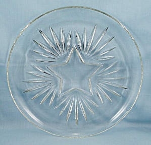 Star Dinner Plate – Federal Glass Co. (Image1)