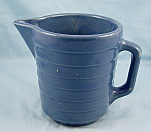 U.S.A. � Blue Banded Milk Pitcher (Image1)