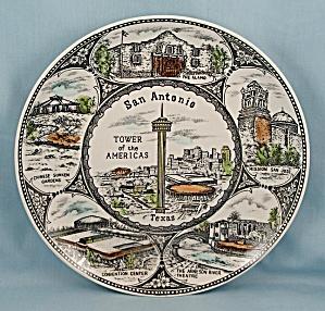 San Antonio, Texas - Collector/ Souvenir Plate (Image1)