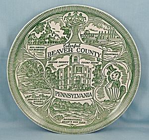 Beaver County, Pennsylvania - Collector/ Souvenir Plate (Image1)
