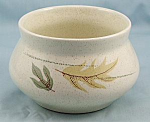 Franciscan - Indian Summer Leaves - Autumn Pattern - Sugar Bowl