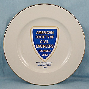 American Society Civil Engineers, 1972 - Collector Plate
