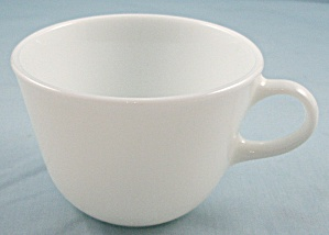 Solid White Corning Cup