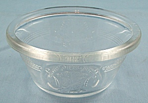Glasbake Custard Dish � With Pat. No. (Image1)
