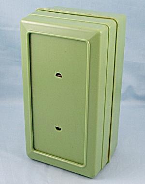 Vintage Green Napkin Dispenser – Orchid  Paper Prod., LA (Image1)