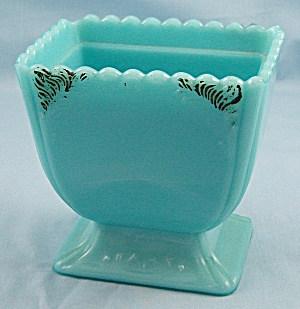 Blue Opal Sugar Bowl Base - Westmoreland