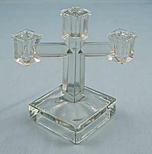 Toy Novelty Candelabrum, Art Deco Style & Chamber Candlestick (Image1)