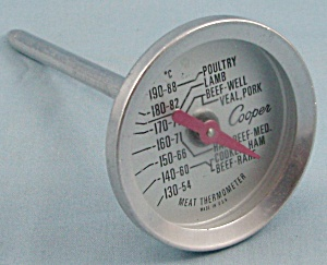 Cooper - Meat Thermometer / Round Face