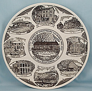 Harveysburg & Massie Twp., Ohio Bicentennial, 1976 � Collector Plate (Image1)