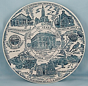 Putnam County / Ottawa, Ohio � 150 Years 1970 � Collector Plate (Image1)