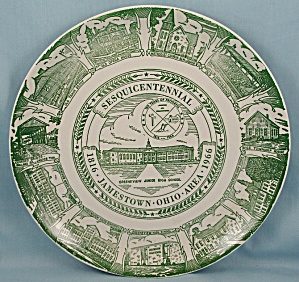 Jamestown, Ohio - Sesquicentennial, 1816-1966 � Collector Plate (Image1)