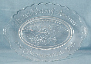 United States Bicentennial Plate 1976 - Avon (Image1)