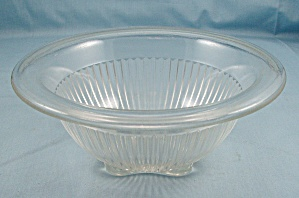 Depression Glass - Paneled/ Ribbed Mixing Bowl