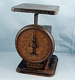 Wholesale Grocer Scales � Tracy & Avery Co. � Mansfield, Ohio � Advertising Sarico Coffee Scale (Image1)
