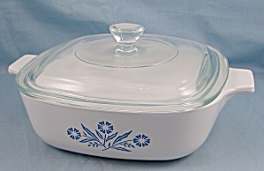 Corning Ware - Casserole & Lid, Medium - Blue Cornflower