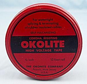 Tin – Okolite – High Voltage Tape 2 (Image1)