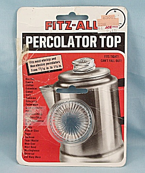 Fitz - All - Percolator Top – Replacement  - 1980 (Image1)