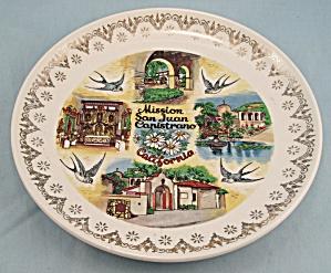 Mission San Juan Capistrano, California- Souvenir/ Collector Plate (Image1)
