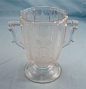 Frosted Chicken � Sugar Bowl Base � Riverside Glass Co. Circa 1883 (Image1)