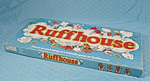 Ruffhouse Game, Parker Brothers, 1980