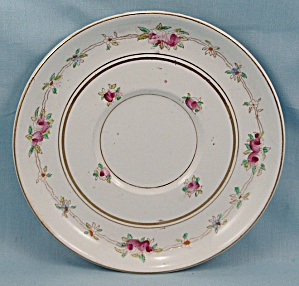Sampson Hancock & Sons, S.h. & Sons - Artist Initials Signed - Floral, Saucer