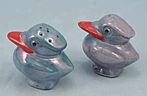 Luster Ware - Figural Salt & Pepper Shakers, Made In Japan