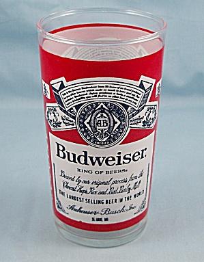 Budweiser/ Anheuser Busch - Tumbler (Image1)