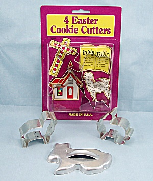 Fox Run - Mirro - Easter Cookie Cutters, Seven