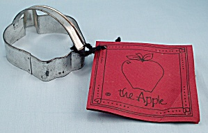 Apple - Cookie Cutter & Recipe / Apple Cookies - Ann Clark