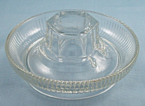 Vintage Poultry/chicken Water Dish- Ribbed Base No.569