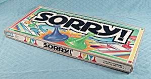 Sorry Game, Parker Brothers, 1992