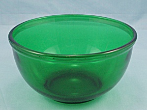 Anchor Hocking – Forest Green – Small Bowl (Image1)