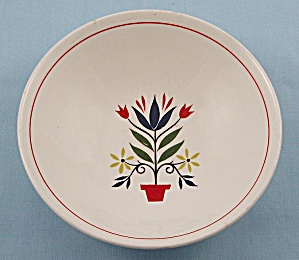 Homer Laughlin China – American Provincial – Dessert/ Fruit Bowl (Image1)