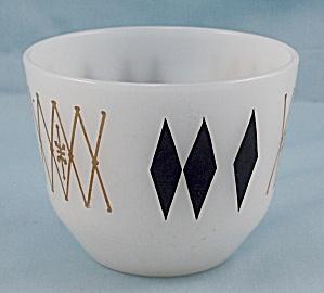 Federal Glass – Black Diamond – Custard Cup (Image1)