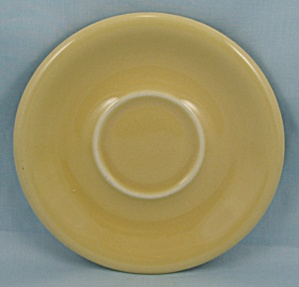 Russel Wright – Sterling China – Yellow Saucer (Image1)