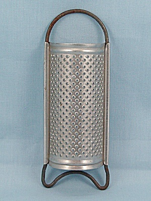Small Aluminum Grater - Spice, Nutmeg, Cheese